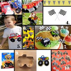 Birthdays on a Budget: Monster Truck Party