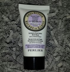 Perlier Shea Butter Intensive Nurturing Body Balm with Lavender Extract; 1.0 oz.