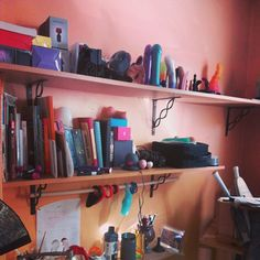 from @Caitlin M. Toy Storage, Storage Ideas, Toy Display, Dildo, Dream Houses, Toys, Floating Shelves, Men's Fashion, Romance