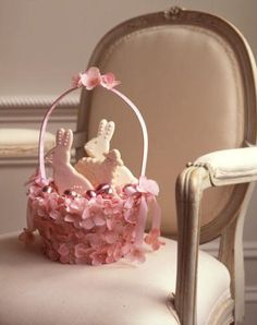 What little girl wouldn't be thrilled to receive this on Easter morning? (Martha Stewart Living)
