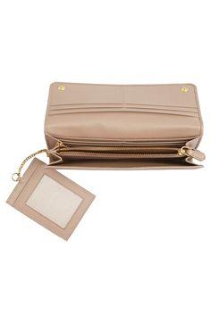 b7efee1f170c82 $700 Oro Saffiano Leather Continental Wallet - PRADA. Goldtone logo  lettering makes a signature statement on a Saffiano-leather wallet that  effortlessly ...