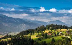 Mountains, Karpaty, Zakopande, Poland, Hills, Sky, Europe, Travel, Adventure, Wanderlust, // by Arek Socha  •  Stockholm/Sweden  •