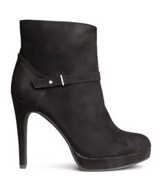 Product Detail   H&M US. This cute fashionably Ankle books from H&M for just $39.95. You can work those boots anywhere you go in the fall.