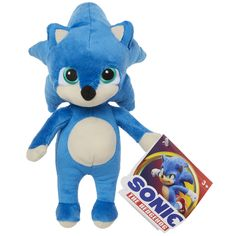 Free 2-day shipping on qualified orders over $35. Buy Sonic The Hedgehog Movie - 8.5 Inch Baby Sonic Plush at Walmart.com Sonic The Hedgehog, Hedgehog Movie, The Sonic, Peppa Pig, Hulk, Transformers, Nerf, Ebay Shopping, Barbie