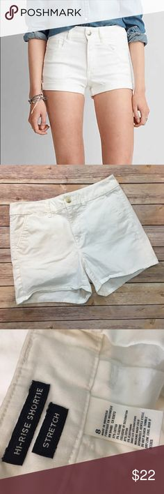 """American Eagle High Rise Shortie American Eagle High Rise Shortie. Waist laying flat 15.5""""/ inseam 4"""". (B004) American Eagle Outfitters Shorts"""