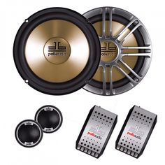 """Polk 6.5"""" 2-Way Component System 300W Max  Price: & FREE Shipping 3 Year Warranty on Android units!!! #android"""