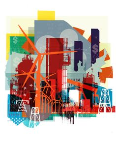 Wall Street Journal / 'Future Energy' - Alex Williamson, Graphic Images / Illustration