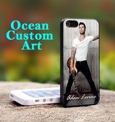 Adam Levine Maroon five - Print on Hard Cover iPhone 5 Black Case