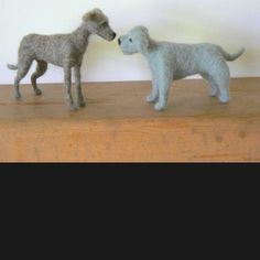 The wool pack- handmade felted animals