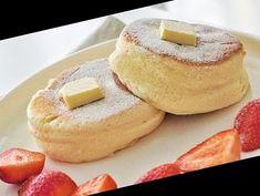 Souffle Pancake With One Egg - YouTube#Pancake #Recipe #Souffle #With Pancake Recipe No Eggs 37+ Souffle Pancake With One Egg | Pancake Recipe No Eggs No Buttermilk | 2020 Egg Souffle, Souffle Pancakes, No Egg Pancakes, Pancakes Easy, Brunch Recipes, Breakfast Recipes, Cooking Time, Cooking Recipes, Japanese Pancake