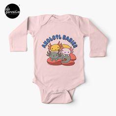 Solid colors are 100% cotton; heathered and marled fabrics are 88% cotton, 12% polyester Lapped shoulder seam for easy dressing  .  #weperceive #weperceivestyle #axolotls #axolotl #walkingfish #illustrationdesign #graphicillustration #axolotllove #axolotllover #babyonepiece #babyapparel #babysleeper #buybabyapparel #babyfashion #babyfashions #babystyletips #babybodysuit #newborngown #babyshowergift #babygift #babybodysuits #pinkbabyclothes #blackbabyclothes #whitebabyclothes #designoftheday