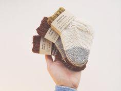 Baby Socks / Turnip & Doe #babysocks #babyknitwear