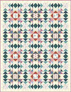 Little House on the Prairie - Laura's Quilt Free Pattern