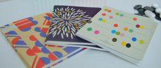 Cuaderno de escritura Dahlia Bleu en Ottoyanna. #cuaderno #libreta #carnets #cahiers #papeleria #notebook