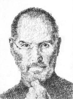 Steve Jobs Drawing : steve, drawing, Steve, Illustrations, Ideas, Jobs,, Apple