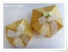 선물포장도 종이접기로~ ^^ :: 네이버 블로그