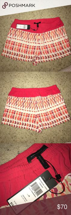 BCBG maxazria patterned shorts Super cute with tags shorts from BCBG BCBGMaxAzria Shorts