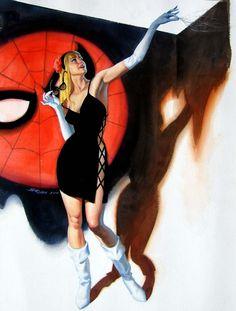 Gwen Stacy by Steve Rude