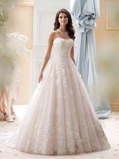 #davidtutera #tutera #bridalgown #gown #white #pink #bride