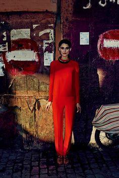 Serge Leblon photographs 'Marrakech la Rouge' for Numéro, May 2014