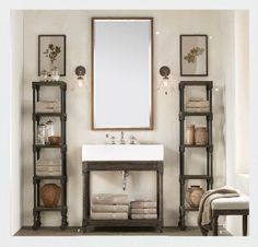 Small spaces bathroom