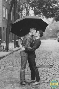 "Old New York:結婚就是要浪漫到底,為同志戀人打造的 ""復古式紐約婚禮"" ‧ A Day Magazine"