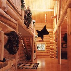 Log Home Builders, Custom Home Builders, Log Cabin Homes, Log Cabins, Dude Ranch Vacations, Cabin Interior Design, Log Cabin Designs, Guest Ranch, Hunting Cabin