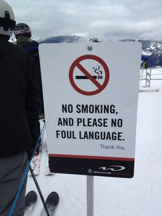 Spotted in Whistler, Canada. (Photo: @William Bakker)