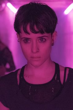 Torn Distresses Tank Top & Boy shorts Underwear Set - Dizaster In A Halo Stieg Larsson, Metro Goldwyn Mayer, Dragon Tattoo Rooney Mara, Clare Foy, Hollywood Actresses, Actors & Actresses, Queer Hair, Bowl Haircuts, Book Series