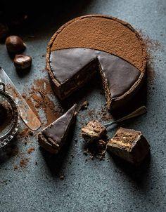 tarta chocolate castanas
