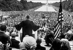 Martin Luther King. La marcha sobre Washington.