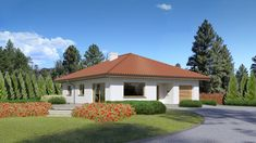 Wizualizacja Dom przy Słonecznej 8 CE Gazebo, Outdoor Structures, Mansions, House Styles, Outdoor Decor, Beautiful, Case, Home Decor, Classic
