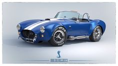 Shelby Cobra 427 rendered in KeyShot by Tim Feher. Link to 3d model download here: https://www.keyshot.com/forum/index.php/topic,9693.0.html