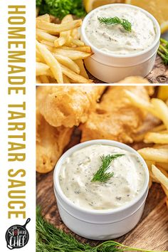 Homemade tartar sauce is bright, tangy, and so easy to make! If you're craving fish and chips, you can't forget the homemade tartar sauce on the side! Homemade Tartar Sauce, Easy Healthy Recipes, Vegetarian Recipes, Make Ahead Appetizers, Sweet Pickles, Best Dinner Recipes, Fish And Chips, Fish Dishes