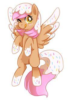 commission -- donut pony by tsurime.deviantart.com on @deviantART