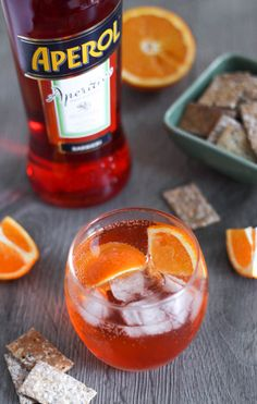 Aperol Spritz - a yummy cocktail for people who don't have a super sweet tooth. It's so easy to make with the simple formula!
