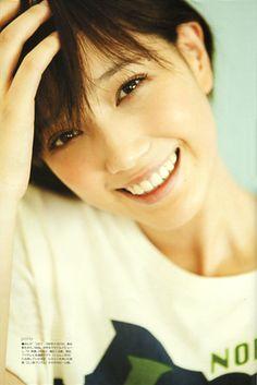 "Model / Tsubasa Honda. Japanese girls fashion magazine ""non-no""."