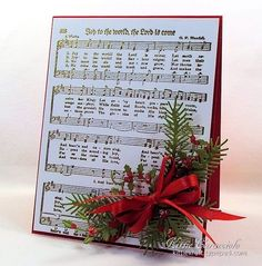 Joy to the World by kittie747 - Cards and Paper Crafts at Splitcoaststampers