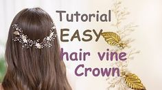 DIY Bridal Beaded Hair Comb - YouTube
