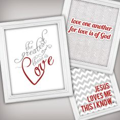 Christian Valentines Day Printable Art!