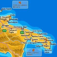 Fasano, Bari, Alberobello - that's us!