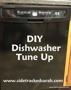 "DIY Dishwasher Tune Up - Sick of Dirty Dishes Coming Out of Your ""Clean"" Dishwasher?"