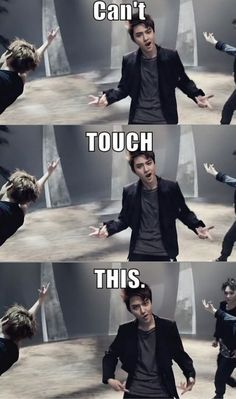 Yes D.O. #exo #wolf oh this fandom XD