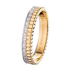 キャトル ルミエール マリッジリング, a Maison Boucheron Jewelry creation.