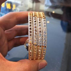Gold bangle set (4nos). For more bangles collection, visit our complete collections.