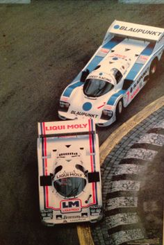 Porsche 962 - Winkelhock / Jochen Mass Porsche 956 at Norisring Poster
