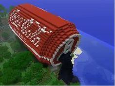 If you know a lot about Minecraft this is hard to make! I would love to make it but it seems too hard. If you know a lot about Minecraft this is hard to make! I would love to make it but it seems too hard. Minecraft Kunst, Pc Minecraft, Amazing Minecraft, How To Play Minecraft, Minecraft Designs, Minecraft Crafts, Minecraft Party, Minecraft Stuff, Minecraft Bedroom