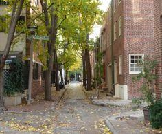 Attractive #alleys draw pedestrians. #walkability #urban #street