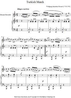 La la land city of stars music gems pinterest piano sheet mozart turkish march sheet music for recorder fandeluxe Gallery