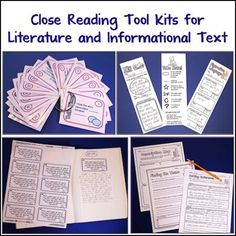 close reading tool kit for informational text Vocabulary Instruction, Vocabulary Practice, English Vocabulary, Project Based Learning, Student Learning, Cooperative Learning, Fun Learning, Teaching Themes, Teaching Kids